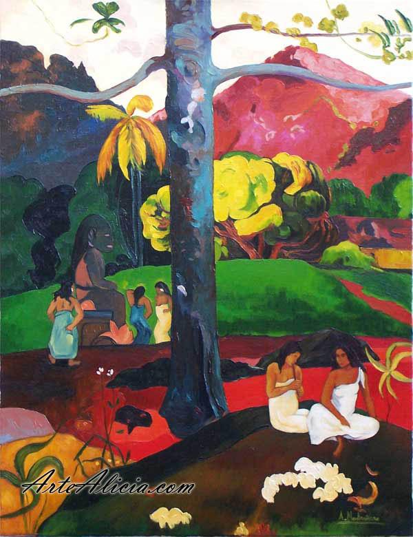 CUADRO: Erase una vez (gauguin) - -