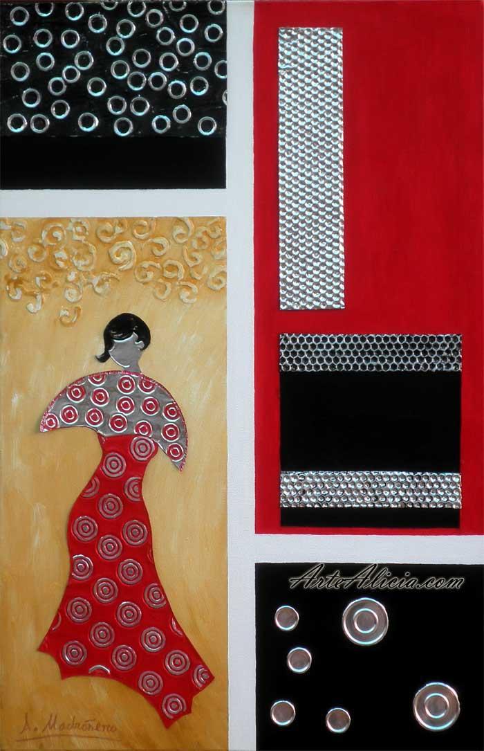 Cuadros modernos decoraci n creativa cuadros modernos - Oleos para dormitorios ...
