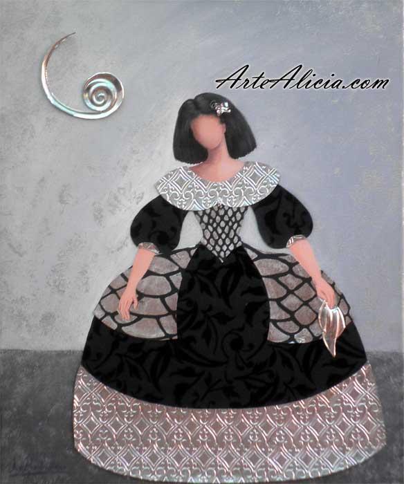 Cuadro menina cuadros modernos decoraci n creativa - Cuadros de meninas ...